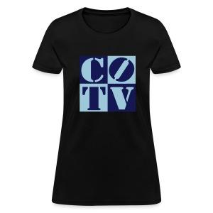 CoinOpTV 4Up Female Tshirt - Women's T-Shirt
