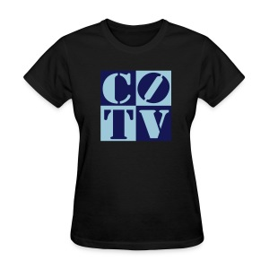CoinOpTV 4Up Female Tshirt - Women's T-Shirt