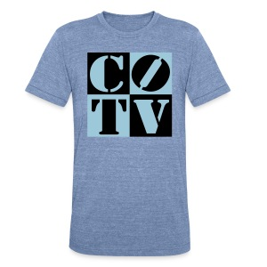CoinOpTV 4Up Male Tshirt - Unisex Tri-Blend T-Shirt