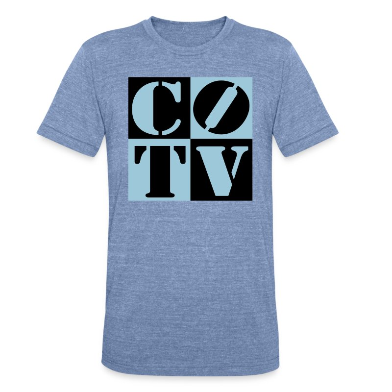 CoinOpTV 4Up Male Tshirt - Unisex Tri-Blend T-Shirt by American Apparel