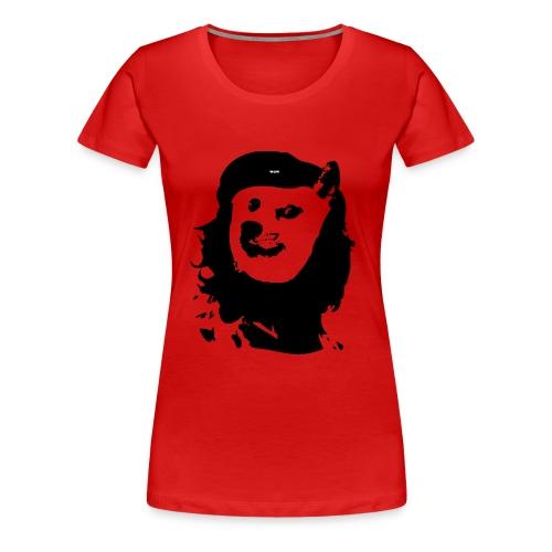 Women's Premium T-Shirt - Che Guevara Inspired Doge Wow Such Revolution Women's T-shirt.