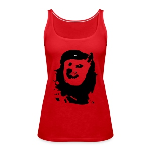 Che Guevara Inspired Doge Wow Such Revolution Women's Tank Top - Women's Premium Tank Top