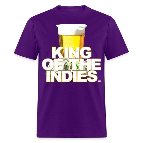 $1 Beer - King Of The Indies - Men's T-Shirt