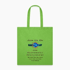 Earth Day Sustainable Development Tote Bag