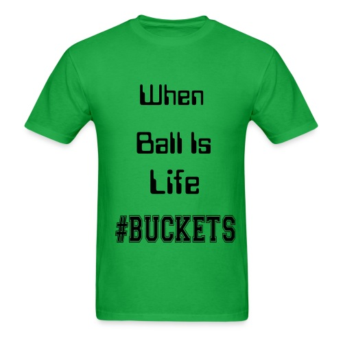 Ball Is Life Mens Regular T-Shirt - Men's T-Shirt