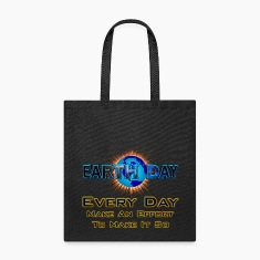 Earth Day Every Day Make It So Tote Bag