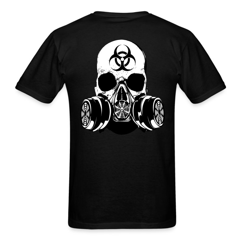 TSD Urban Survival Skull Tee - Men's T-Shirt