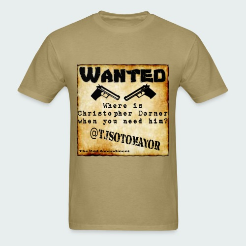Where is Christopher Dorner - Men's T-Shirt