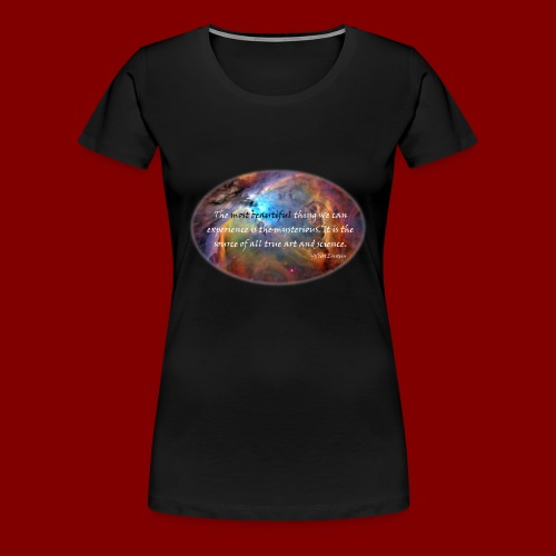 The Mysterious.  - Women's Premium T-Shirt