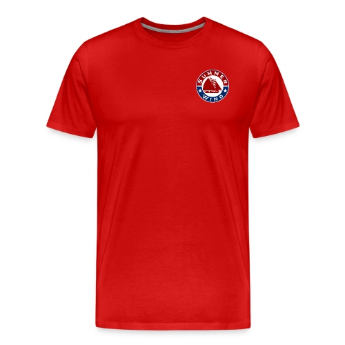 Summer Wind Crew T Red - Men's Premium T-Shirt