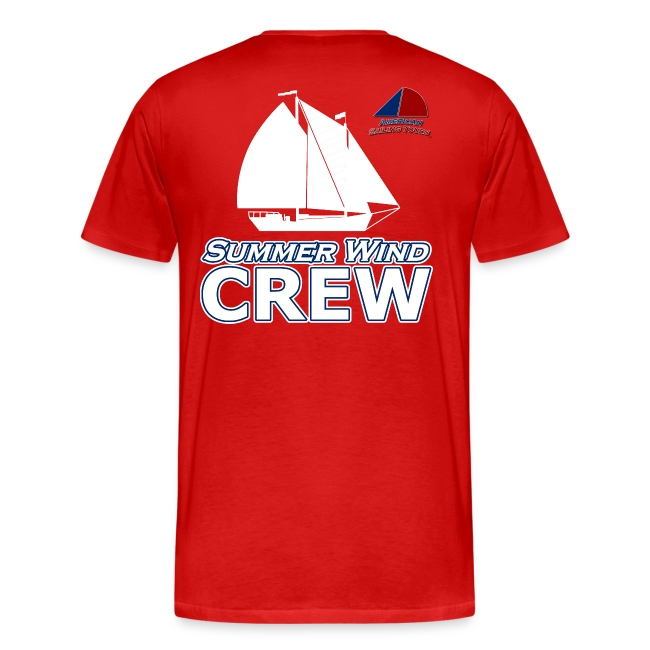 Summer Wind Crew T Red