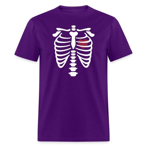 Unisex Heart On Chest Shirt - Men's T-Shirt