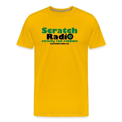 Men's T - Premium (Yellow) - Men's Premium T-Shirt