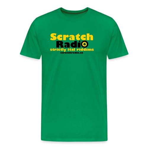 Men's T - Premium (Green) - Men's Premium T-Shirt
