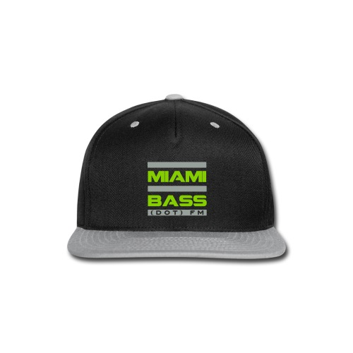 MBFM Snapback-green - Snap-back Baseball Cap