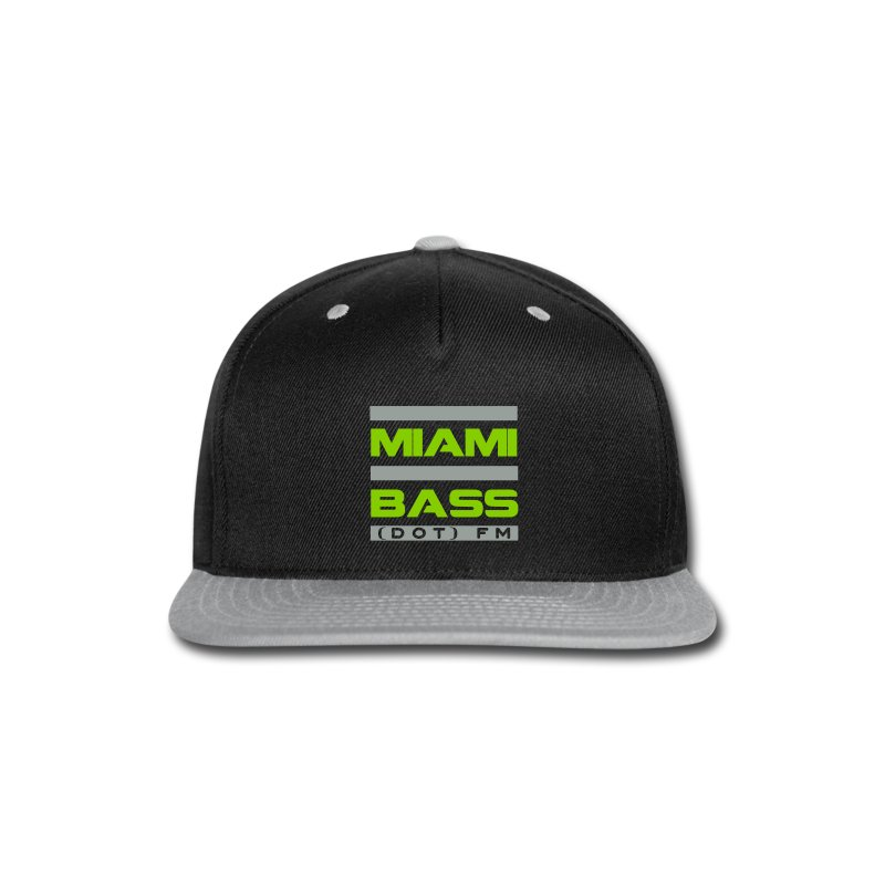 MBFM Snapback-green - Snap-back Baseball Cap
