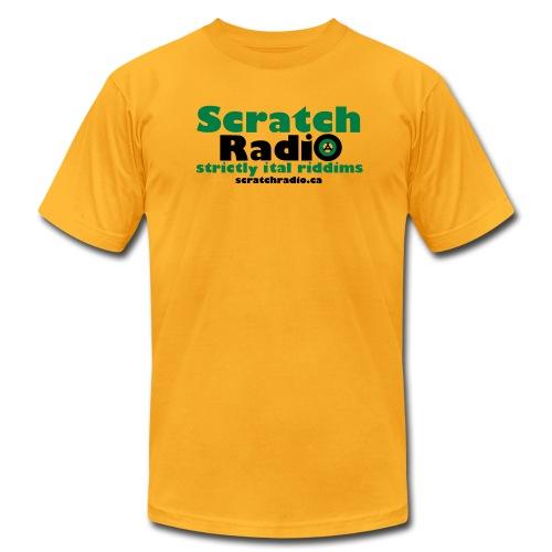Men's T - American Apparel (Yellow) - Men's Fine Jersey T-Shirt