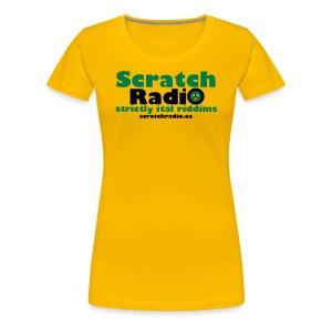 Women's T - Premium (Yellow) - Women's Premium T-Shirt