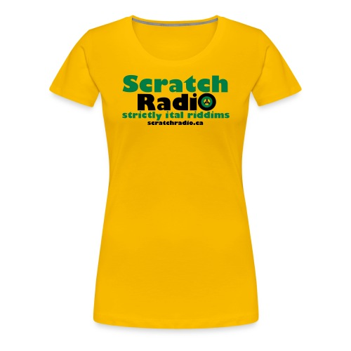 Women's T - Premium (Yellow) - Women's Premium T-Shirt