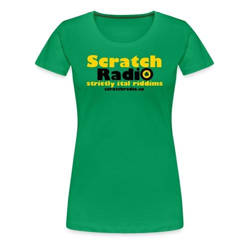 Women's T - Premium (Green) - Women's Premium T-Shirt