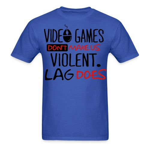 Video Games Don't Cause Violence - Men's T-Shirt