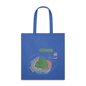 Fenway Seating Chart - Tote Bag