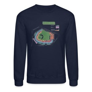 Fenway Seating Chart - Crewneck Sweatshirt