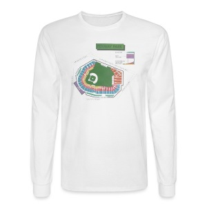Fenway Seating Chart - Men's Long Sleeve T-Shirt