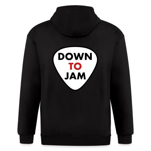 DownToJam - Zip Hoodie - Men's Zip Hoodie