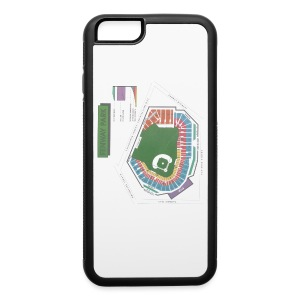 Fenway Seating Chart - iPhone 6/6s Rubber Case