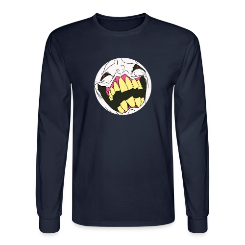 Men's Long Sleeve T-Shirt - It would please me greatly if you meatbags purchased my products.