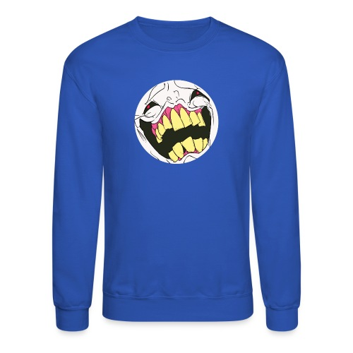 Crewneck Sweatshirt - It would please me greatly if you meatbags purchased my products.