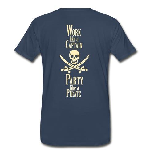 Countrylifeco. work like a captain tee  - Men's Premium T-Shirt