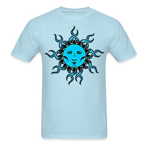 Sublime Moon Vibrant Tribal Design - Men's T-Shirt