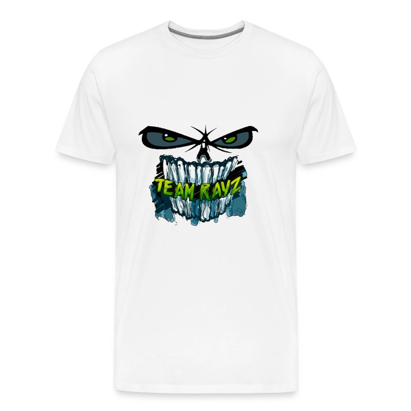 #TeamRayz Zombie Face Shirt - Men's Premium T-Shirt