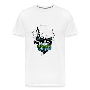 #TeamRayz Zombie Skull Shirt - Men's Premium T-Shirt