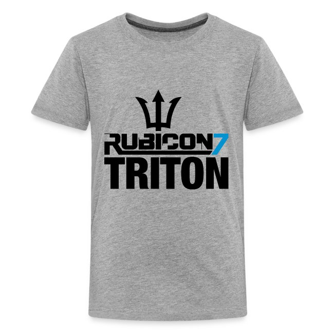 Triton Kid's T-Shirt (Ash)