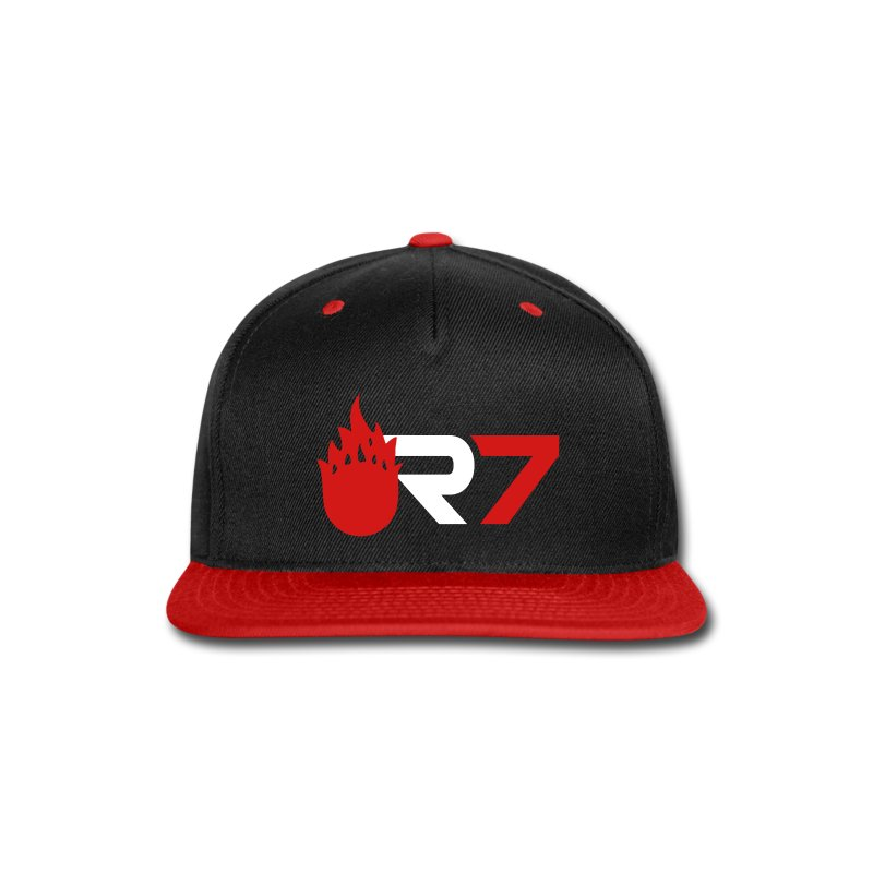R7 Snapback (Red) - Snap-back Baseball Cap