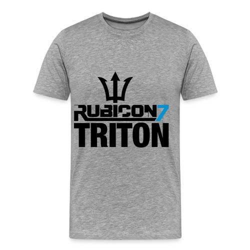 Triton Men's T-Shirt (Ash) - Men's Premium T-Shirt