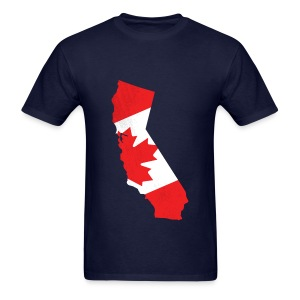 Canuck in Cali T-shirt - Men's T-Shirt