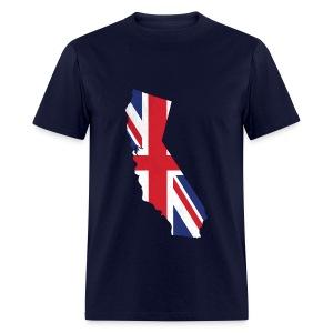 Brit in Cali T-shirt - Men's T-Shirt
