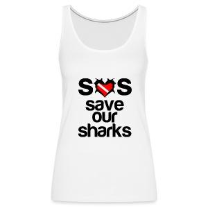 Women's Premium Tank Top - t-shirts with shark designs,sharks t shirts,shark week t-shirt,shark week shirts,shark week apparel,shark week,shark t-shirt,i love sharks
