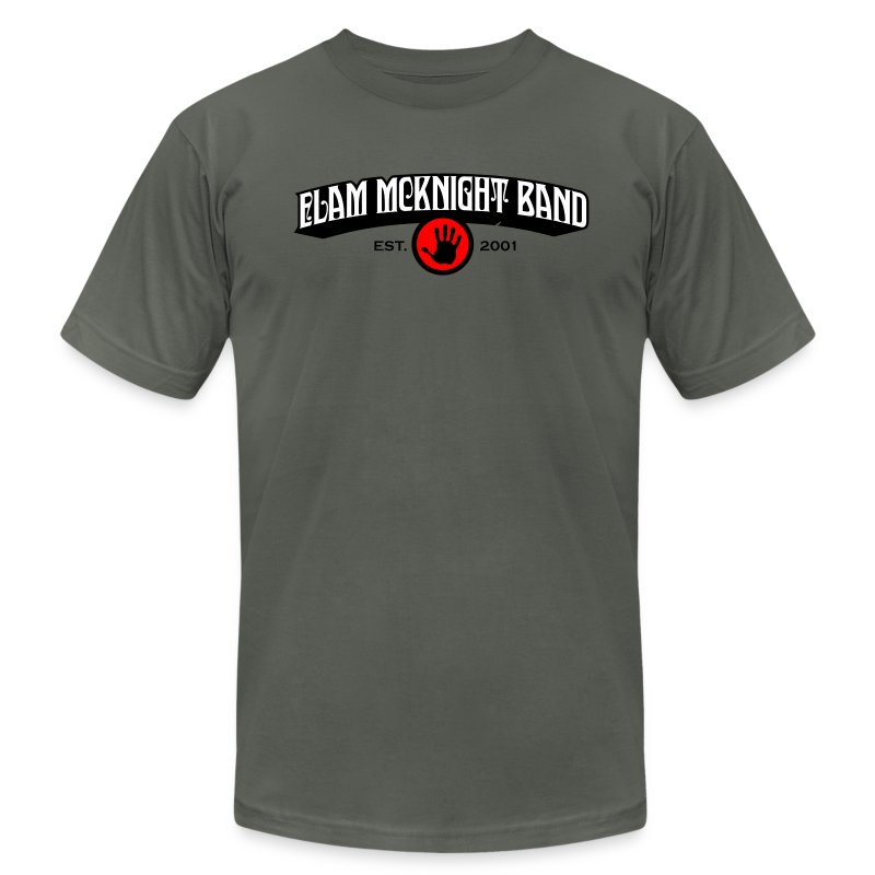 ELAM_MCKNIGHT_BAND - Men's T-Shirt by American Apparel