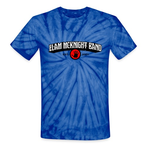 ELAM_MCKNIGHT_BAND - Unisex Tie Dye T-Shirt