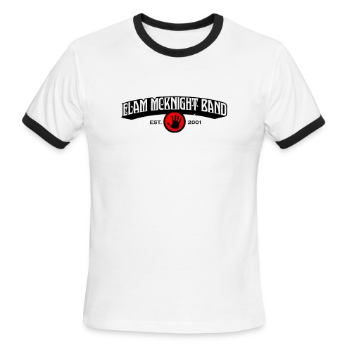 ELAM_MCKNIGHT_BAND - Men's Ringer T-Shirt