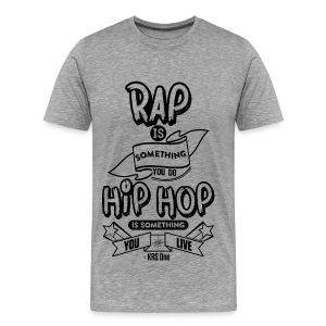 KRS One speaks - Men's Premium T-Shirt