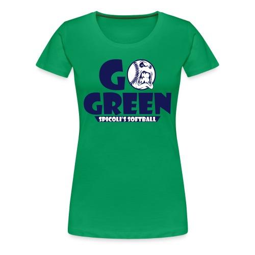 SPICOLI'S SOFTBALL WOMENS T - Women's Premium T-Shirt