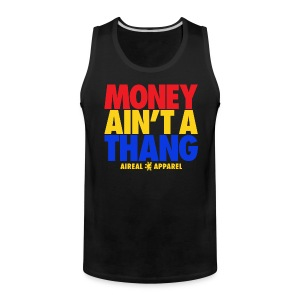 Money Ain't A Thang Team Pacman Tank by AiReal Apparel - Men's Premium Tank