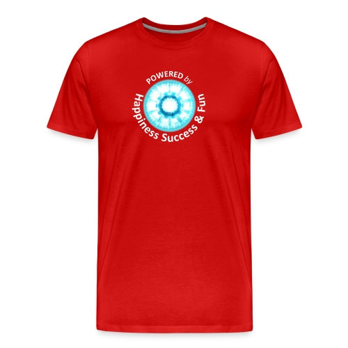 Powered By HSF Ironman Insignia - Men's Premium T-Shirt
