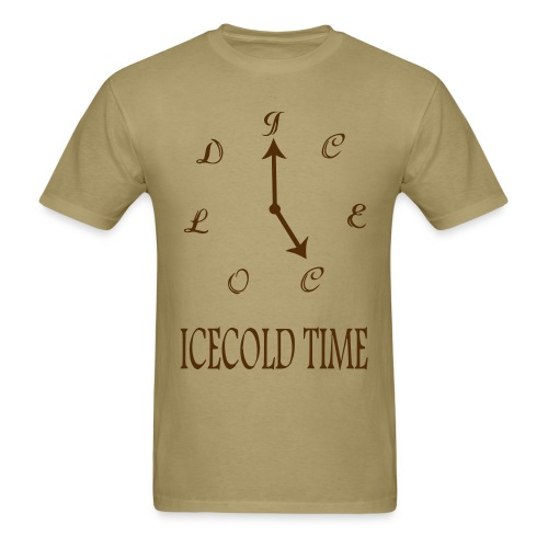 IceCold Time Brown - Men's T-Shirt